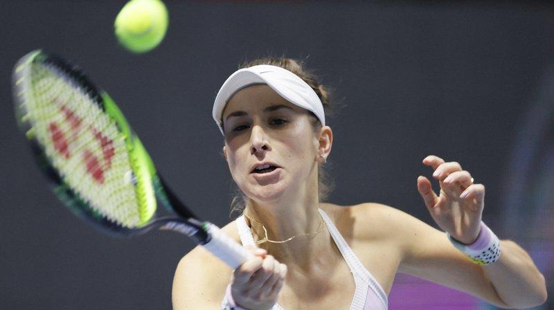 Tennis: Belinda Bencic sortie d'entrée à Dubaï