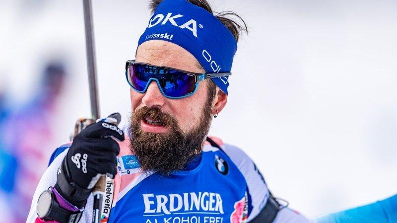 Biathlon: Benjamin Weger met un terme à sa saison