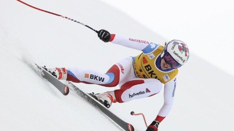 Ski alpin: les Suissesses à la traîne après le super-G du combiné de Crans-Montana