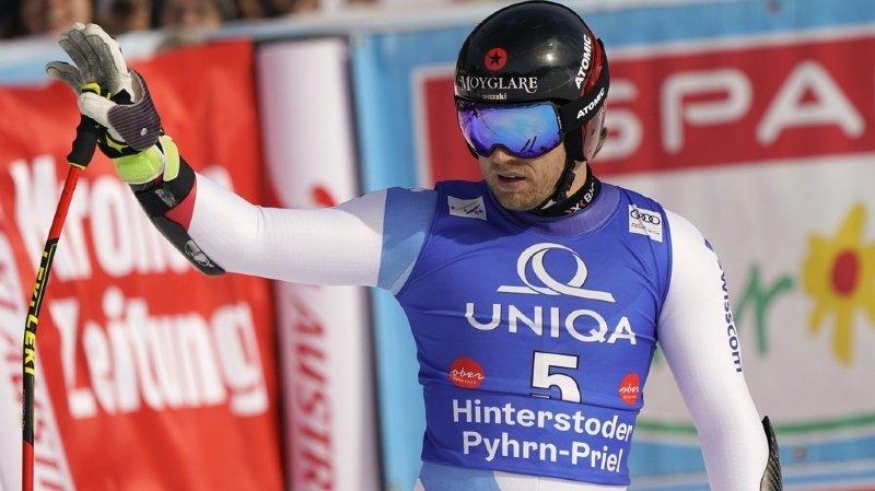 Ski alpin: Caviezel 2e du Super-G à Hinterstoder, remporté par l'Autrichien Kriechmayr