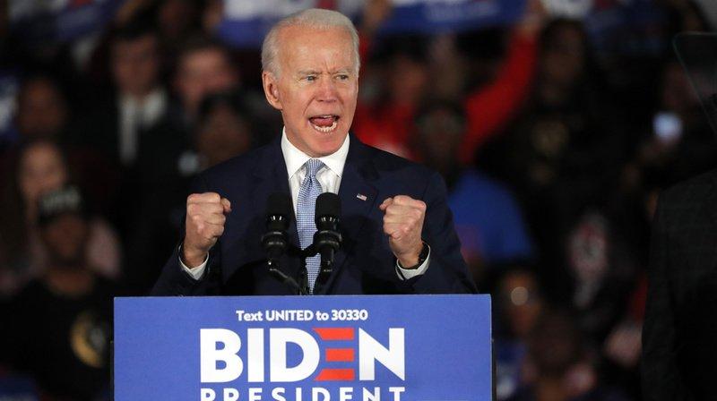 Présidentielle américaine: Joe Biden s'impose dans 9 Etats lors du «Super Tuesday»