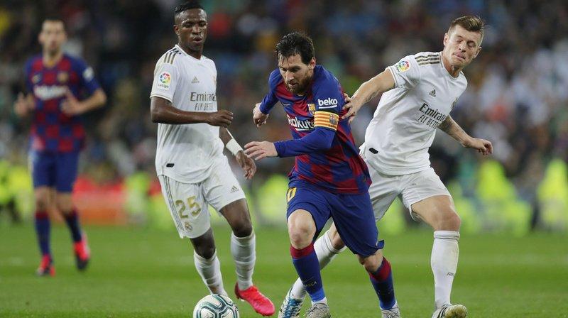 Football – Espagne: le Real Madrid bat Barcelone et prend la tête de la Liga