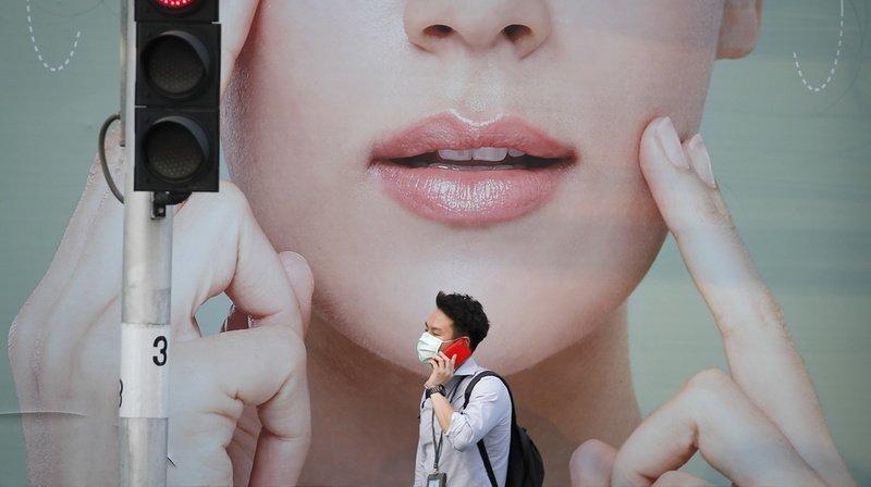 Pour éviter de propager le coronavirus, mieux vaut éviter de se toucher le visage. (illustration)