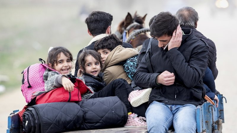 Migration: pour le Conseil fédéral, la situation en Grèce est préoccupante