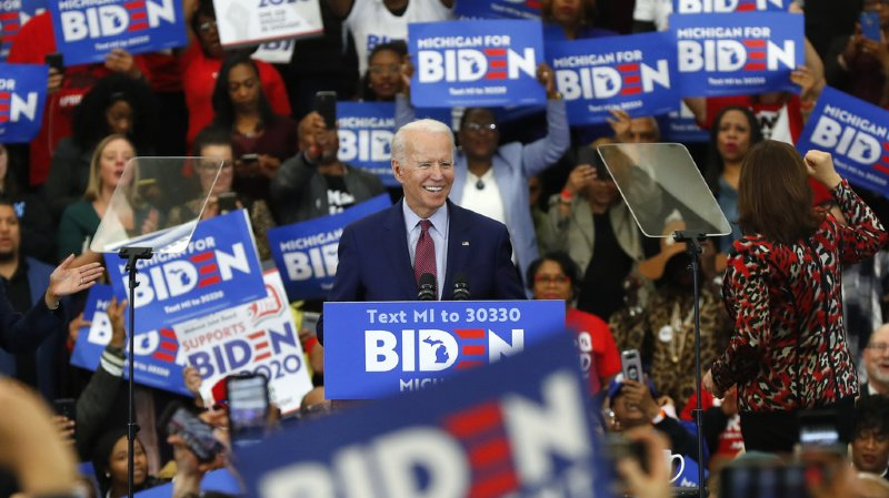 L'ancien vice-président Joe Biden a fait l'unanimité dans 3 nouveaux Etats, dont Michigan.