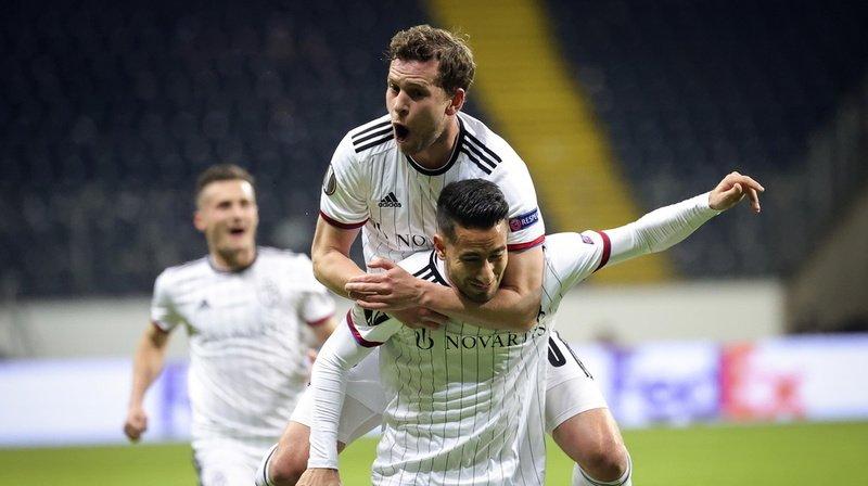 Football – Europa League: le FC Bâle écrase l'Eintracht Francfort