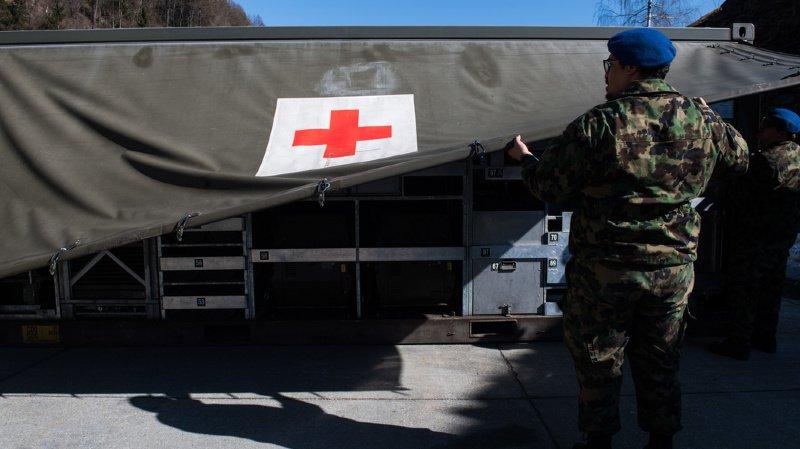 Coronavirus: l'armée suisse va acheter 900 respirateurs dans les prochains jours