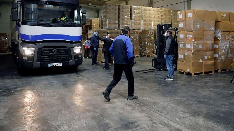 Après avoir été bloquée deux semaines à la frontière, une livraison à destination de la Suisse a été ramenée au bureau central de la douane.