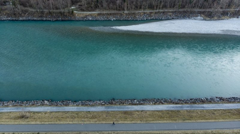 La qualité de l'eau d'un fleuve comme le Rhin peut être impacté par un seul site industriel.