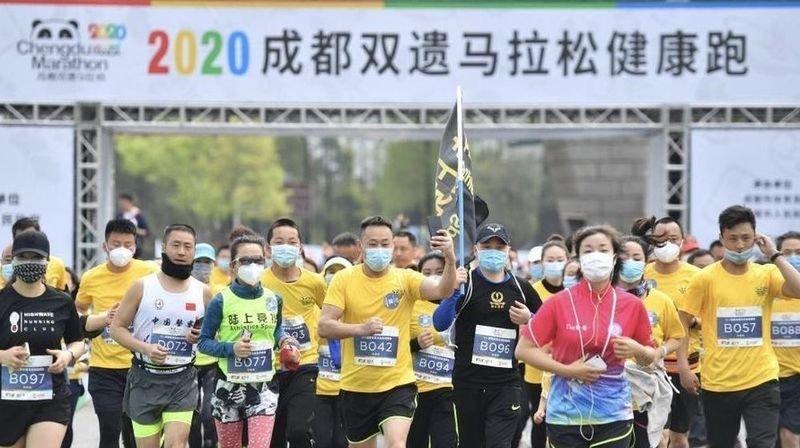 1000 coureurs étaient au départ le course.