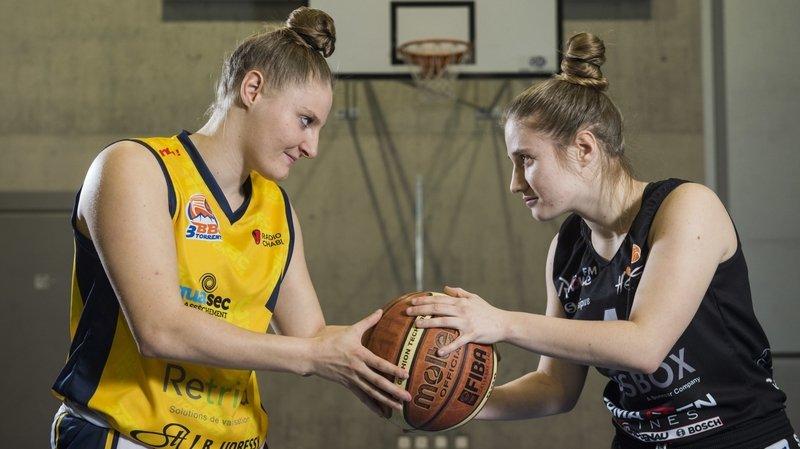 Basket: Nadia et Kathy Constantin, deux sœurs, mais un seul ticket pour la finale