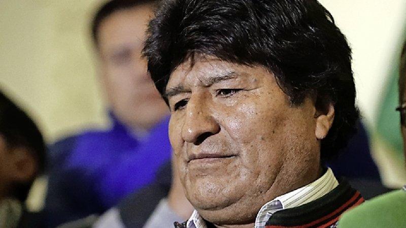 La candidature d'Evo Morales invalidée