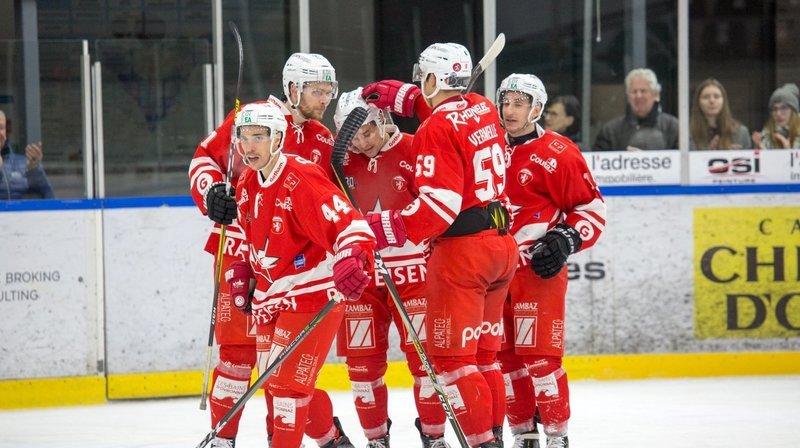 Le HCV Martigny aura l'avantage de la glace en finale. Elle débute samedi au Forum.