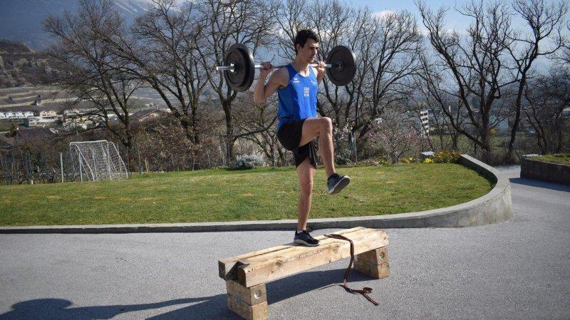 Le selfie de Julien Bonvin (athlétisme): «J'apprends à être autonome et je me sens plus libre»