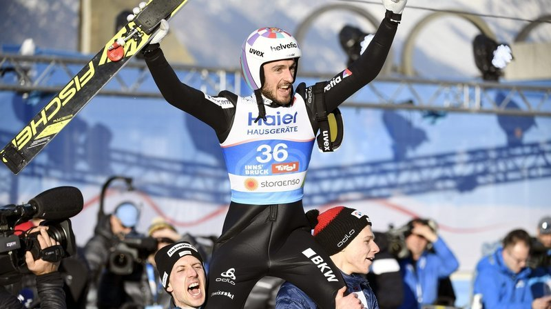 Saut à skis: Christophe Bonvin s'envole avec Killian Peier et Simon Ammann