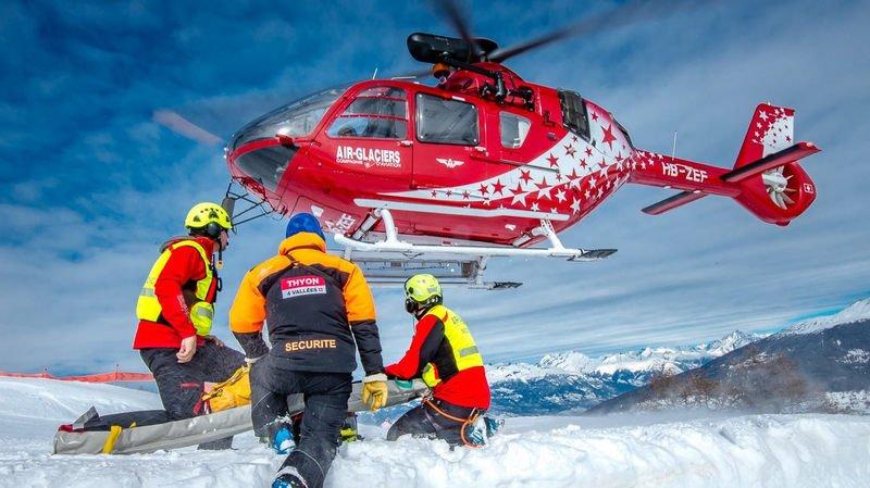 Sauvetage: carnaval chargé pour Air-Glaciers