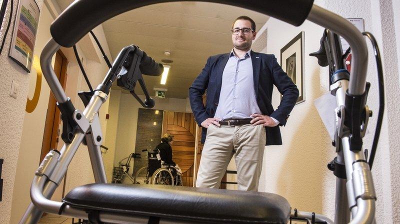 Arnaud Schaller: «Le Valais a bien fait d'anticiper la fermeture de ses EMS»