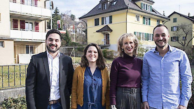 Les deux duos en quête de la présidence PS. Un Bernois de Nidau (BE), Martin Schwab, est aussi candidat.