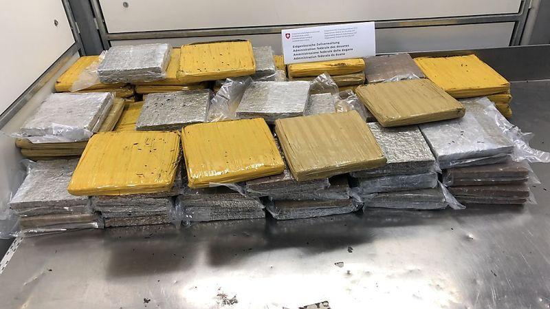 La drogue était répartie dans 79 paquets placés sous vide. Ces derniers étaient dissimulés dans des boîtes.