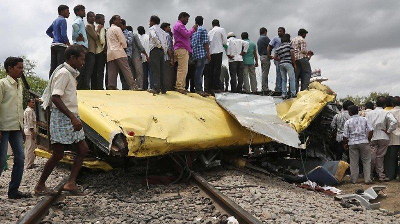 La collision s'est produite à un passage à niveau non surveillé du district dans le sud du pays (archives).