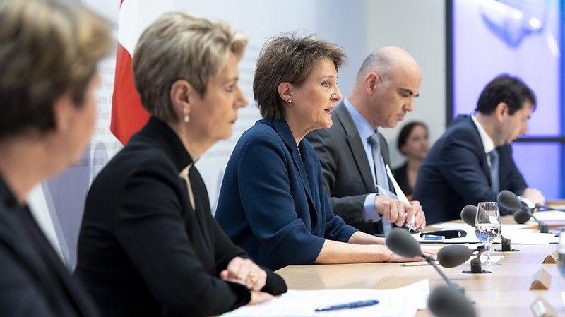 Coronavirus: toute la Suisse en état d'urgence mais pas de confinement général