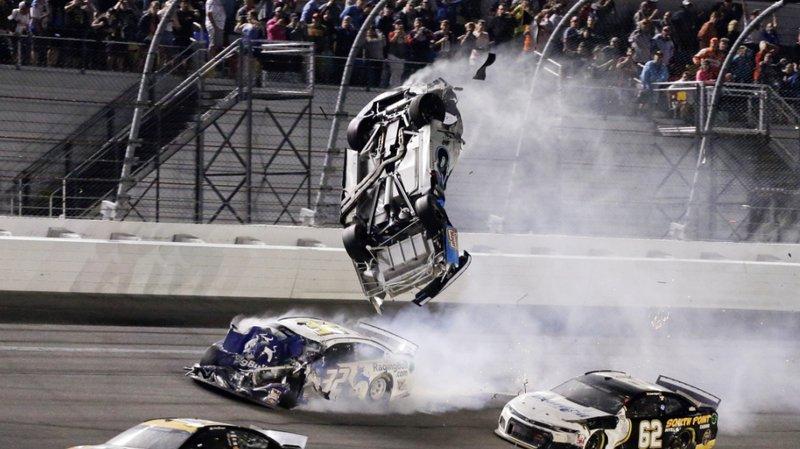Automobilisme – NASCAR: le Daytona 500 s'achève par un grave accident