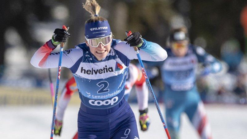 Ski de fond: Nadine Fähndrich brille avec une 5e place en sprint à Are
