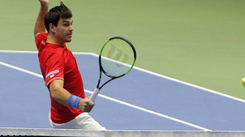 Tennis – Coupe Davis: la Suisse est au bord de basculer dans l'anonymat du Groupe mondial II de Coupe Davis