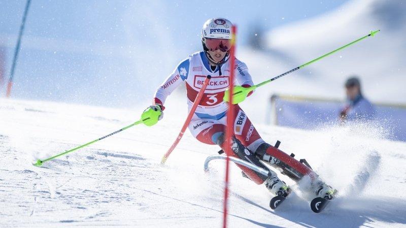 La skieuse de Vétroz Camille Rast construit son avenir