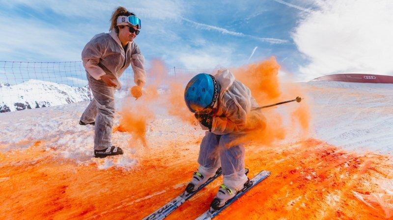 La Tzoumaz: prendre des couleurs sur les pistes avec Skicolor