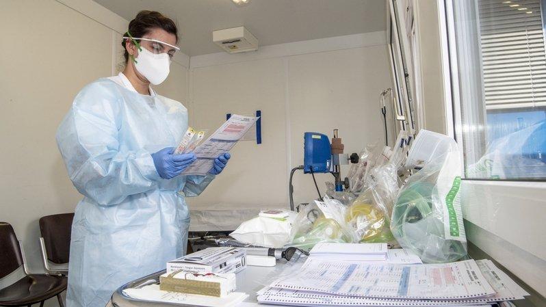 Coronavirus: 6 personnes hospitalisées en Valais