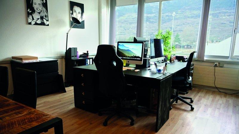Un nouvel espace de coworking à Conthey