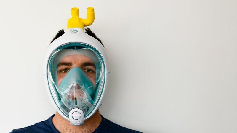 Coronavirus: des ingénieurs italiens ont transformé des masques de plongée en respirateurs
