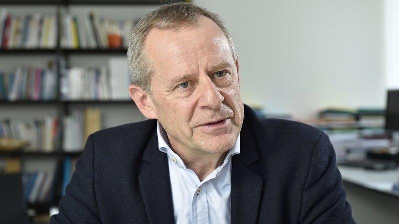 Eric Bonvin, directeur général de l'Hôpital du Valais: «Le confinement peut amener à un sentiment de détresse qu'il faut prendre au sérieux.»