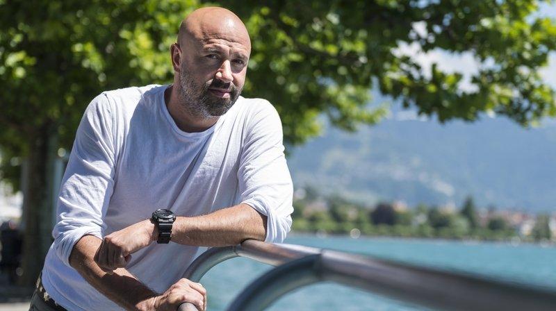 Frédéric Recrosio: l'humoriste valaisan a été nommé codirecteur du théâtre Boulimie