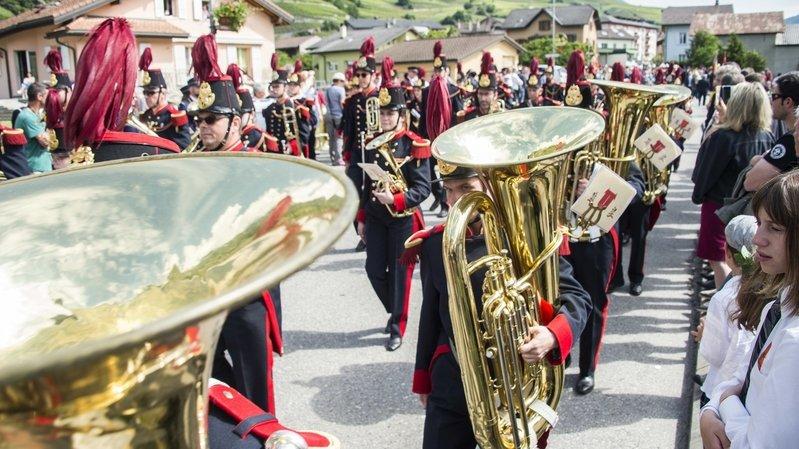 Coronavirus: les grands festivals de fanfares et de chant ne fleuriront pas ce printemps en Valais