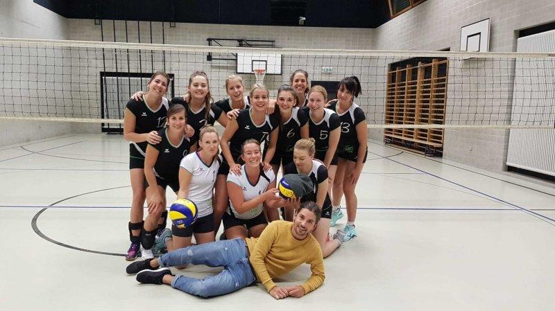 Volleyball: en 2e ligue, Fully tient le haut de l'affiche