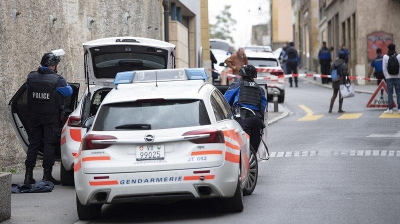 Les coups de feu, tirés dans un appartement de la rue Basse à Grandson, avaient provoqué une forte mobilisation policière, le samedi 29 février dernier.