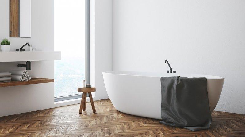 Habitat – Salle de bains: comment aménager une baignoire îlot?
