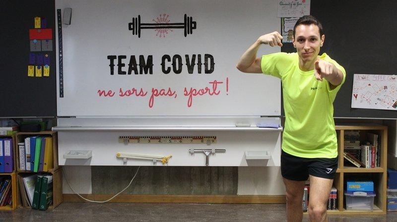 Coronavirus: chaque jour une vidéo de sport pour inciter les élèves - et les autres - à bouger
