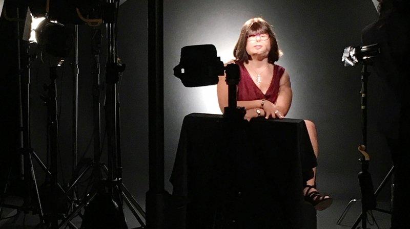 Jenny Udriot dans un film donnant la parole à cinq personnes défigurées