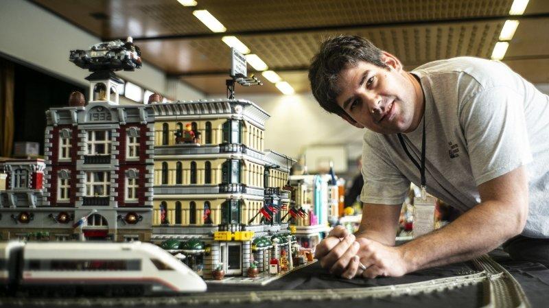 «Le Lego est un jouet dont on ne se lasse jamais»