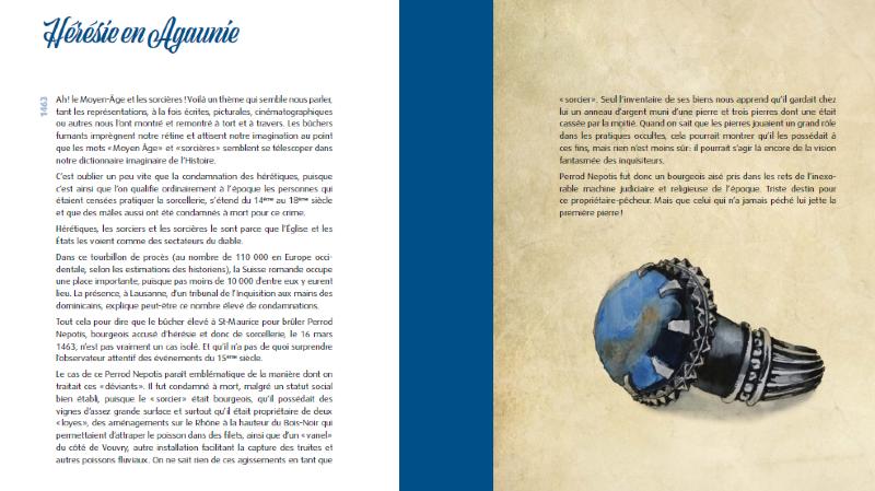 Les 850 ans de la bourgeoisie de Saint-Maurice dans un recueil vivant
