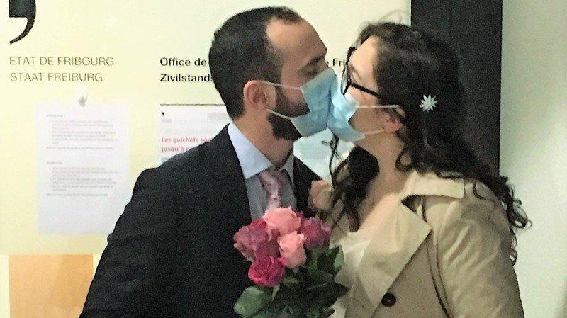 Coronavirus: urgence de santé oblige, un Valaisan et son amoureuse ont pu se marier