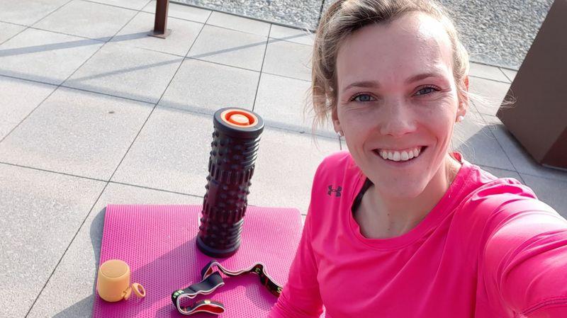 Le selfie de Marielle Giroud (basketteuse): «Je consacre plus de temps à la cuisine et à la lecture»