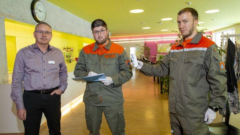 Coronavirus: les membres de la PCi, nouveaux anges gardiens des EMS valaisans