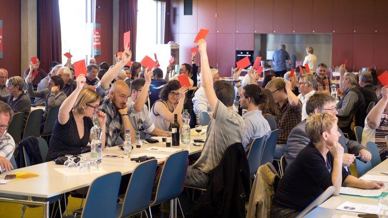 Le coronavirus empêche la tenue du prochain congrès du Parti socialiste du Valais romand.