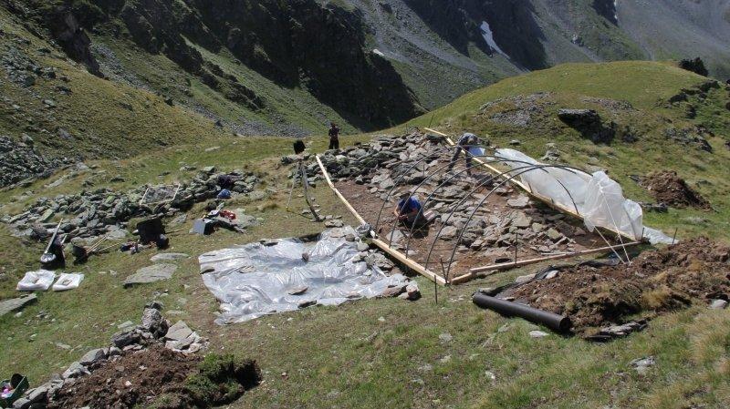 Liddes: un sentier didactique et un espace muséal pour mettre en valeur le mur d'Hannibal