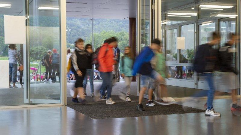 Coronavirus: pas de fermetures d'écoles prévues en Valais