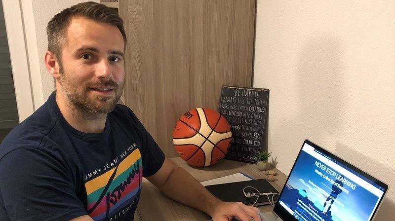 Coronavirus: faire avancer le basket par écrans interposés, l'idée innovante de Sébastien Clivaz